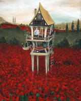 Poppy Field by VivalaVida