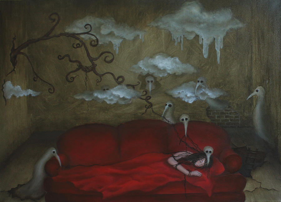 Red Sofa by *VivalaVida
