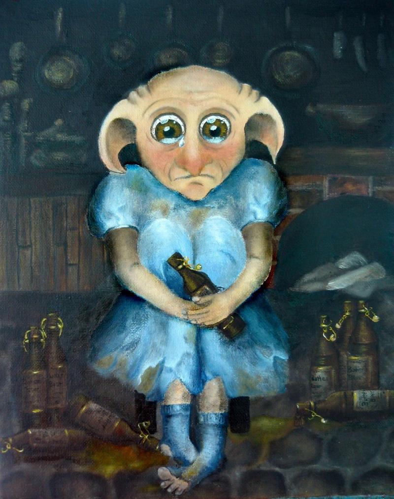 Winky the House Elf by VivalaVida