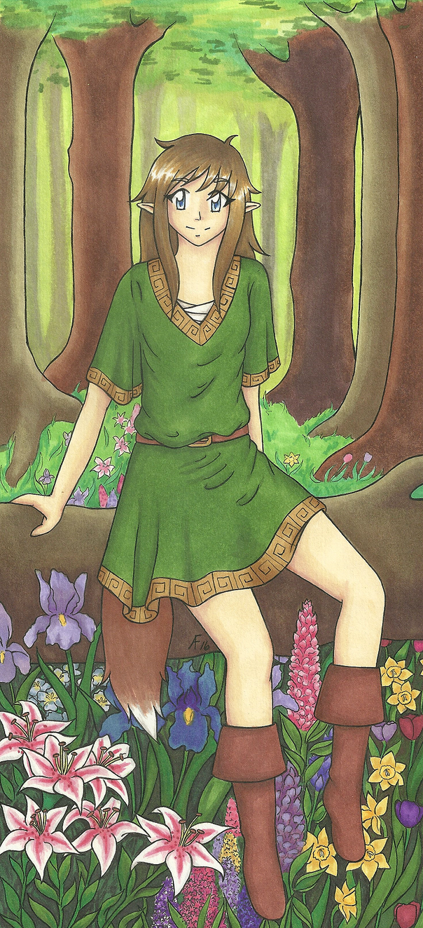 Forest Flowers by glitterxgraphite
