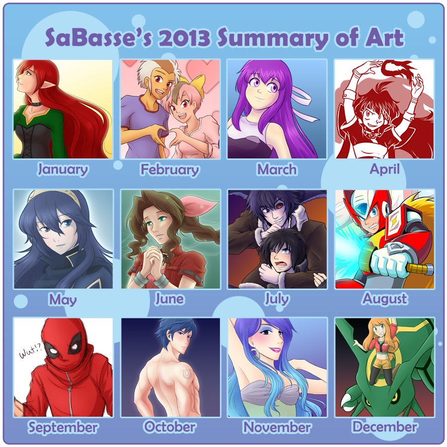 2013 - Summary of Art by SaBasse