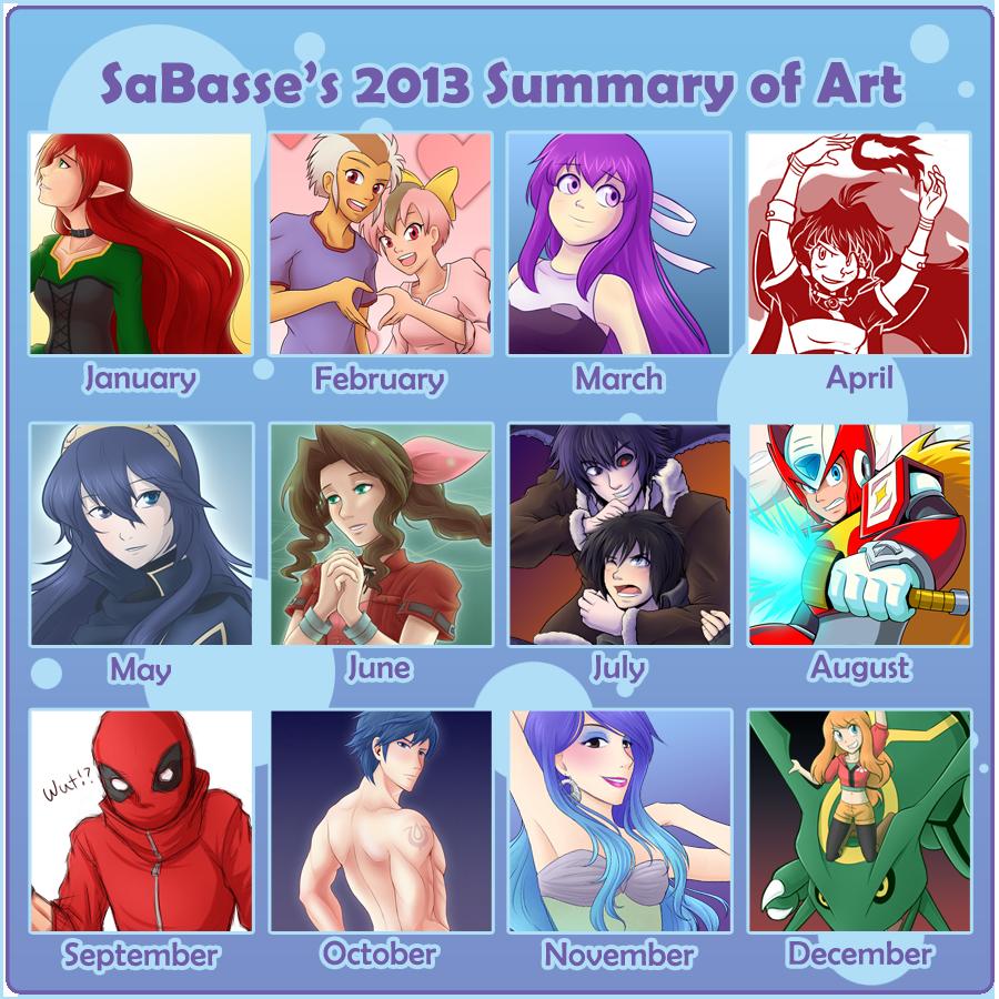 2013 - Summary of Art by SaBasse