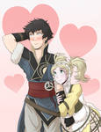 Lon'qu and Lissa for Valentines