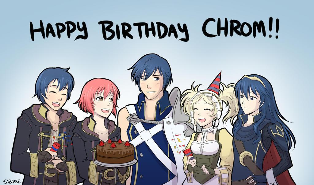 Happy Birthday Chrom by SaBasse