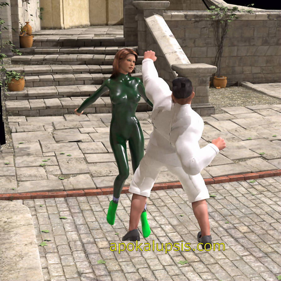 Webcomic Fight Scene