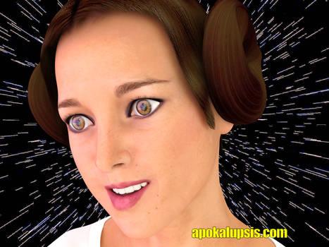 Princess Leia - Carrie Fisher Tribute