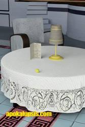 Lemon on a Table