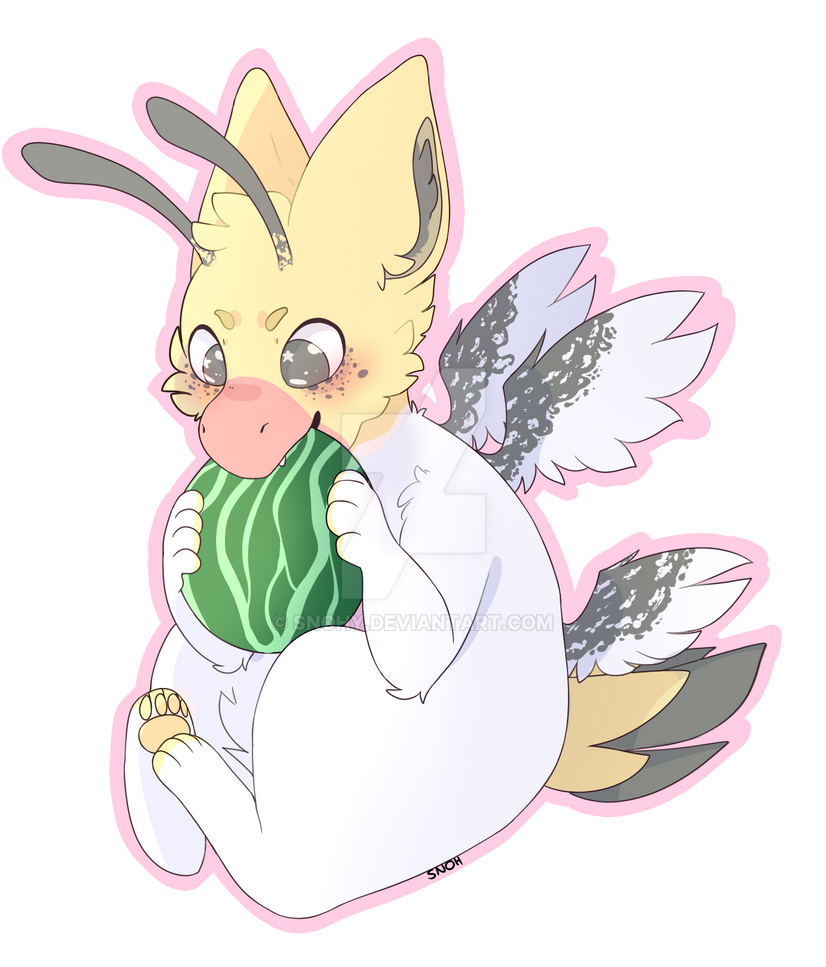 BumbleFluff (closed species) YCH Arii by Snohy
