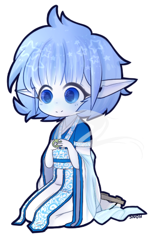 Personal Snoh Kimono Pagedoll by Snohy