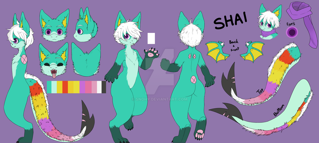 Shai Reference Sheet Commission by Snohy
