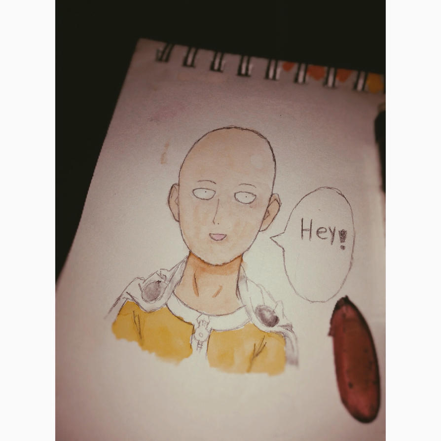 One punch man  by bluedrangon123