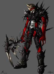 NightmareGK13 - Drakke concept by BlueWaveStudios