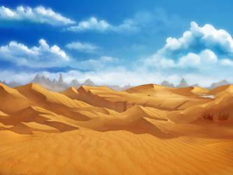 Surthur-Desert by BlueWaveStudios