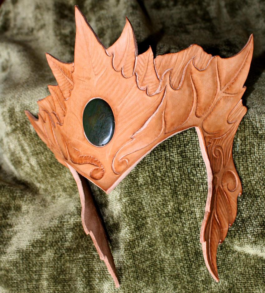 Wood Elf Headdress v2 - WIP by Shendorion