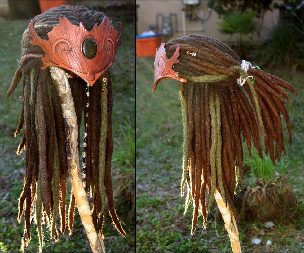 Wood Elf Headdress 03 by Shendorion