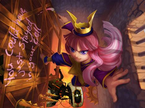The Princess and the GLaDOS