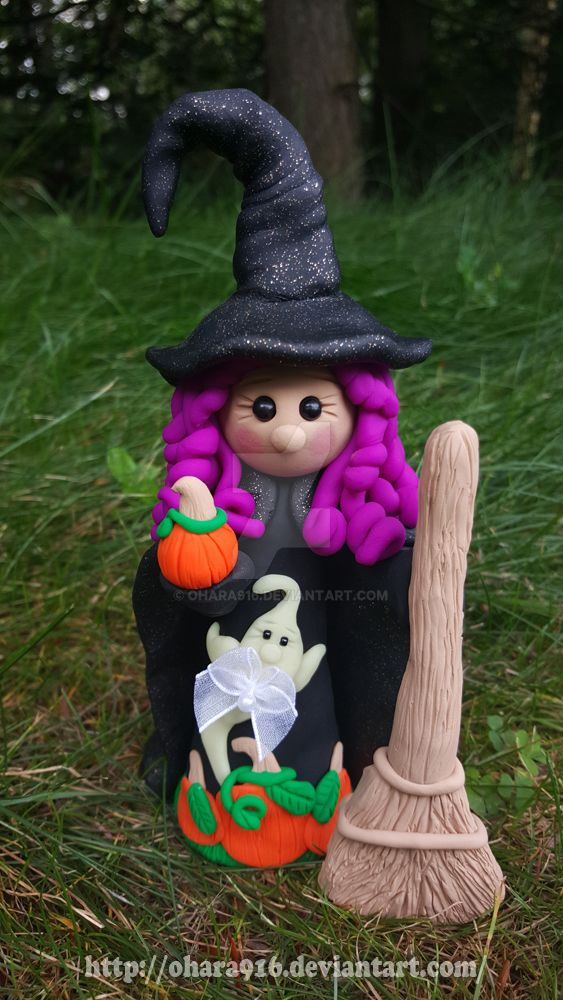 Decorative Witch: Available by ohara916