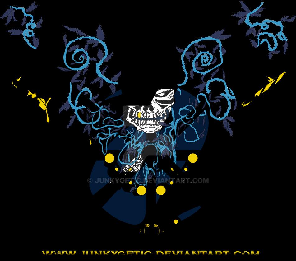 Cross Skull - shirt design by junkygetic