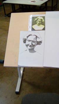 Art Class: Crosshatching Bust