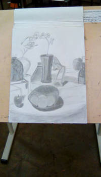 Art Class: Still life from March