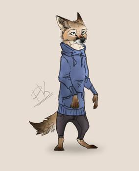 Swift Fox Fursona