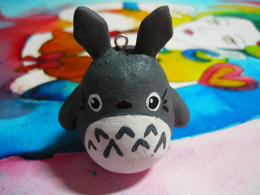 Air drying Clay: Totoro Style by xmoOshay