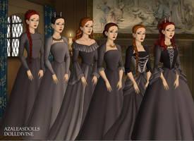 the 12.1 Discorded Tudor Style by COnfessorRocksha