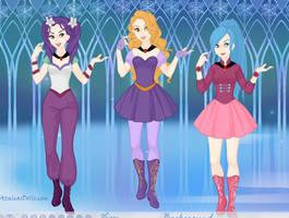 Dazzlings by COnfessorRocksha