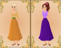 Daughters of Elizabeth Brisby by COnfessorRocksha