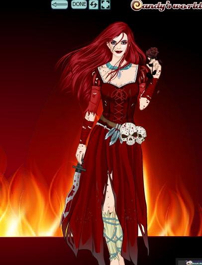 Dark Rocksha by COnfessorRocksha