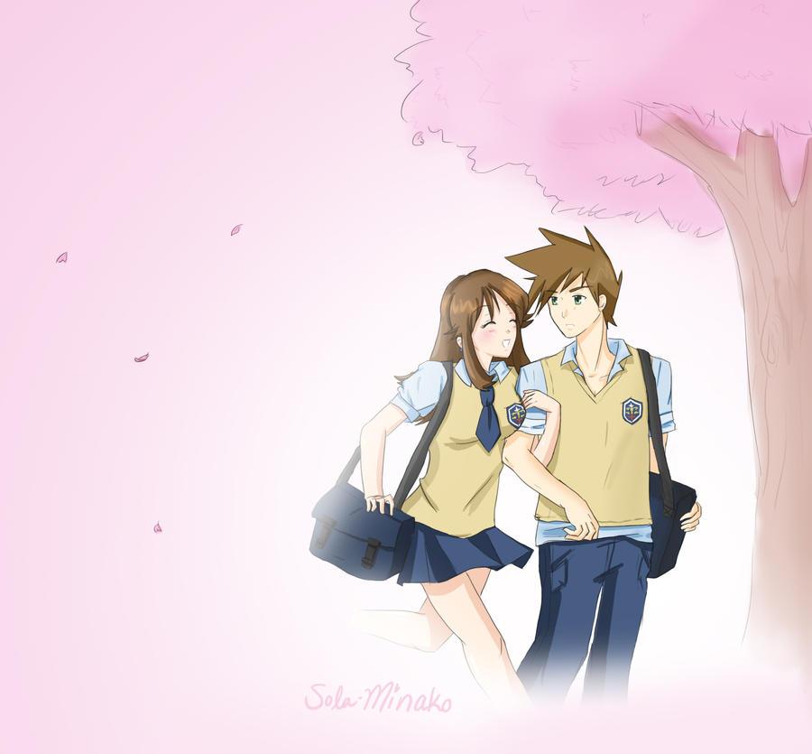 Sakura School Days by Sola-Minako