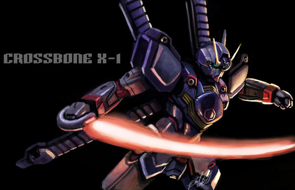 Crossbone X-1 by Tanqexe
