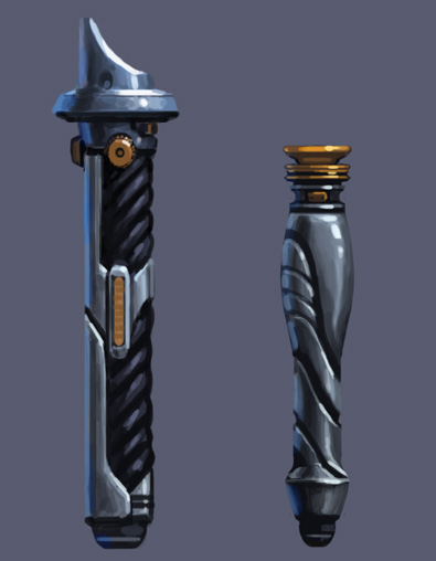 Lightsaber designs by Tanqexe