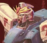 Gundam F91 Bust by Tanqexe