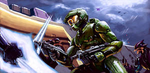 Master Chief: Surrounded