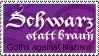 Schwarz statt braun_stamp by CruelCat
