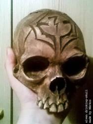 Drinking Skull by CruelCat