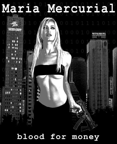 Maria Mercurial fake poster by CruelCat