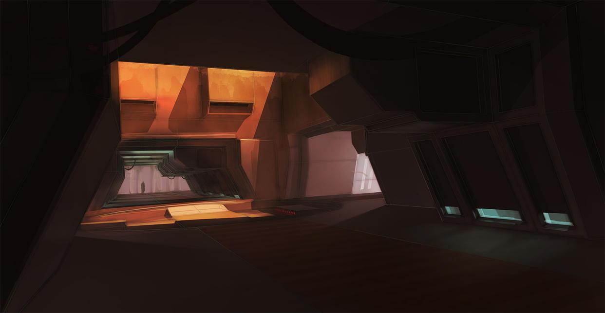 future hallway concept by Fernstrom