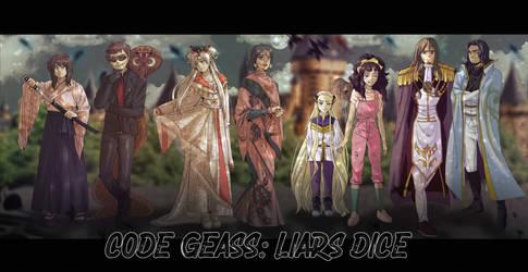 Code Geass: Liars Dice Fic Cover