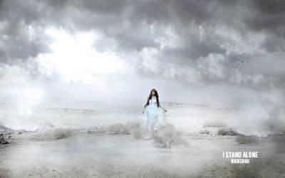 I stand Alone Photomanipulation
