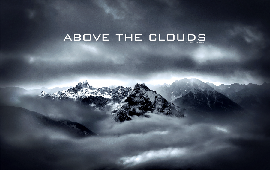 Above the clouds wallpaper by NickchouBG on deviantART