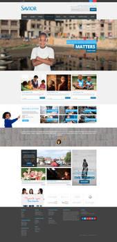 Savior- Web Design