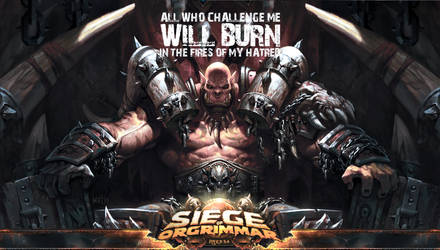 World of Warcraft - Garrosh Hellscream Wallpaper