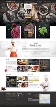 Healthyfood- Web Deisgn