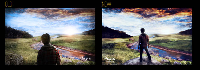 Heaven Photomanipulation Rework