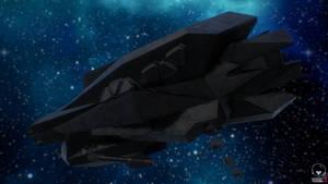 Amun-Ra Class Stealth Ship 'Anubis'