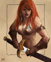 Red Sonja by Manji675