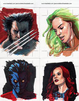 Marvel 70th Sketch Cards 3 by Manji675