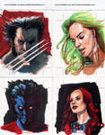 Marvel 70th Sketch Cards 3